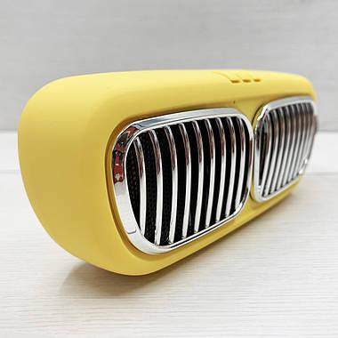 Портативна колонка Wireless Speaker NBS-11 (жовта), фото 3