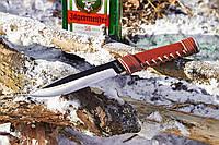 Нож нескладной Кожа и сталь