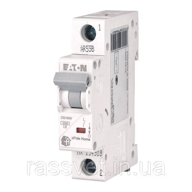 Автоматический выключатель EATON PL4 С16 1p xpole home