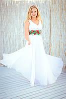 Діана Шварц. Сукня біла вишита, фото 1