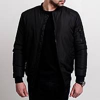 Куртка мужская демисезонная теплая осенняя весенняя / бомбер