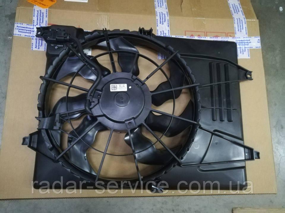 Вентилятор охлаждения киа Спортейдж 4 1.6-2.0i, KIA Sportage 2018- Qle, 25380d7600