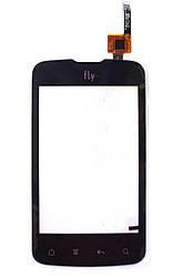 Сенсорный экран для Fly IQ238 Jazz, черный, оригинал