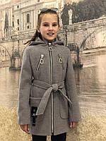 Кашемировое пальто Александра (светло-серый), фото 1