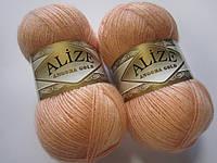 ANGORA GOLD 282 персиковый - 20% шерсть, 80% акрил