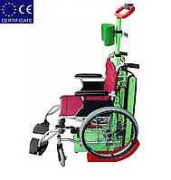 Лестничный электроподъемник для инвалидной коляски W-CL01. Подъемник для инвалида.
