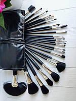 Набор кистей ( 24 шт) в чехле черные, фото 1