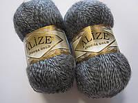 ANGORA GOLD 700 серый мулине - 20% шерсть, 80% акрил