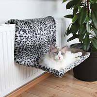 Trixie (Трикси) Гамак на батарею подвесной для кошек (snow leopard)