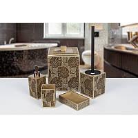 Комплект в ванную Irya - Doris (5 предметов)