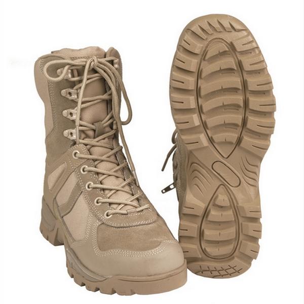 Тактичні черевики Mil-tec coyote