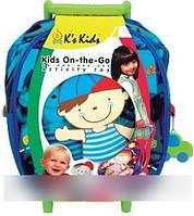 Ks Kids Игровой набор кукла Иван, салфетка, сумка на колесах