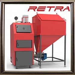 Твердотопливный котел отопления РЕТРА-4М 25 кВт