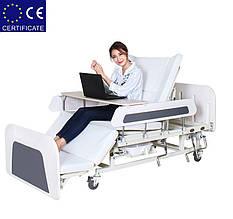 Медицинская кровать с туалетом Е55. Функциональная кровать. Кровать для реабилитации.