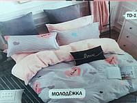 """Комплект постельного белья двуспальный """"Тиротекс"""" - Молодежка"""