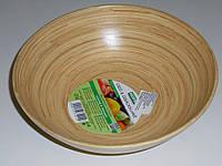 Миска бамбуковая, 25 см
