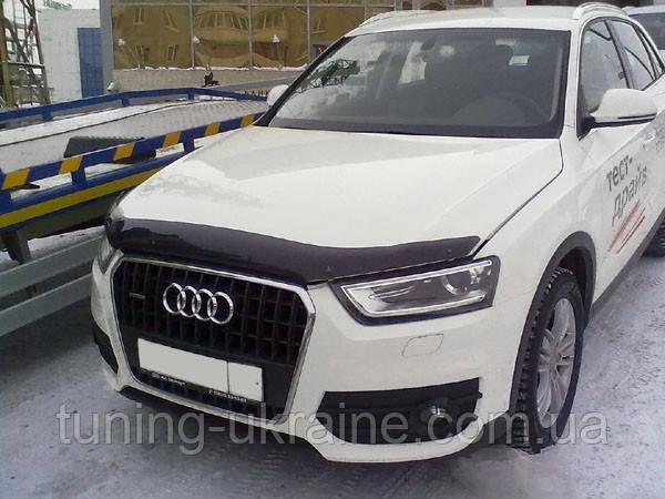 Дефлектор капота на Audi Q3 11+ SIM