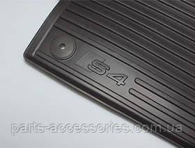 Audi A4 B8 S4 2008+ коврики резиновые передние новые оригинал