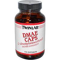 DMAE (Диметиламиноэтанол) Twinlab 100 мг 100 капсул