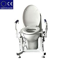 Кресло для туалета подъемным устройством стационарноеLWY-001., фото 2
