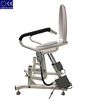 Кресло для туалета подъемным устройством стационарноеLWY-001., фото 3