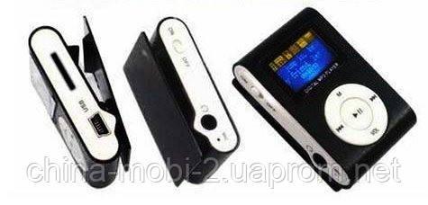 MP3 Player  display  плеер клипса МР3 c дисплеем, копия iPod