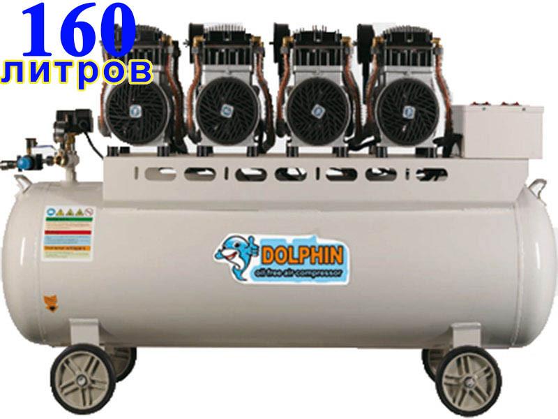 Безмасляный компрессор Dolphin DZW41500TF160G