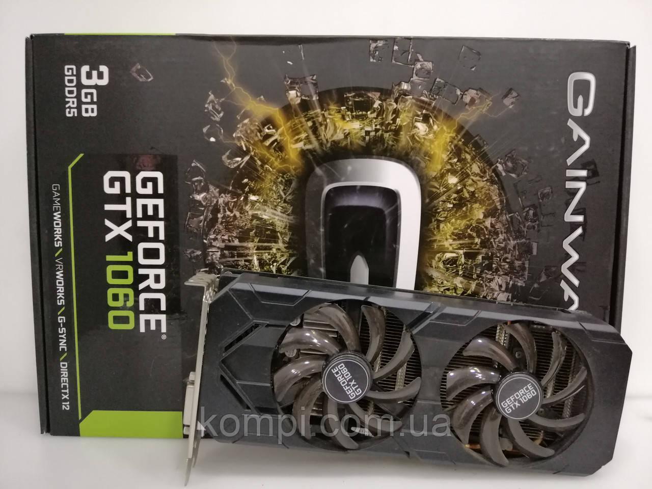 Видеокарта Nvidia GTX 1060 3Gb  Gainward / Майнинг
