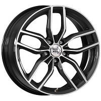 Mille Miglia MM039 R18 W8 PCD5x112 ET39 DIA66.6 Anthracite Polished