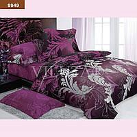 Комплект постельного белья ранфорс 9949 Украина, Евро , Натуральное