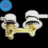 Змішувач для душової кабіни (G-2 \ 10) на два положення під гайку, в стійку душової кабіни (Оригінал)