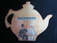 Картина в форме чайничка в технике декупаж, 35х29см, 150\130