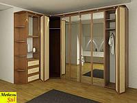 Угловой комплект со шкаф-кроватью