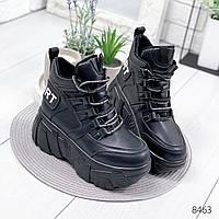 Ботинки женские Оff-line черные