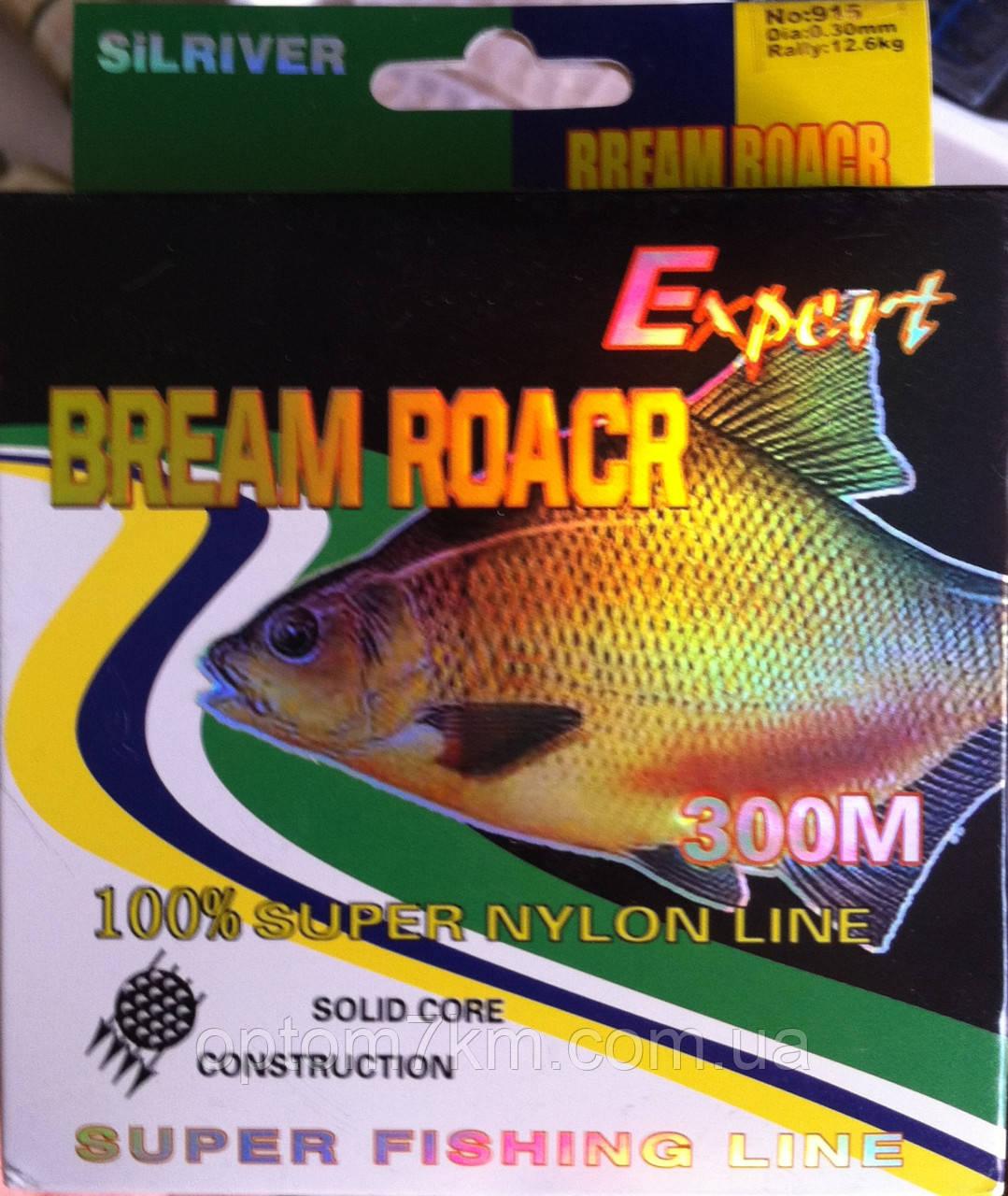 Леска Silriver Bream Roacr 300m