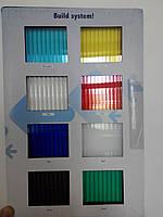 Поликарбонат сотовый 2.1х6 м 4 мм синий Днепр , фото 1