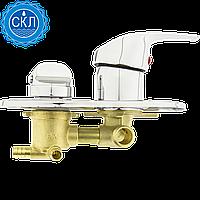 Змішувач душової кабіни (S-3 \ 6) на три положення під Штуца, в стійку душової кабіни (Оригінал)