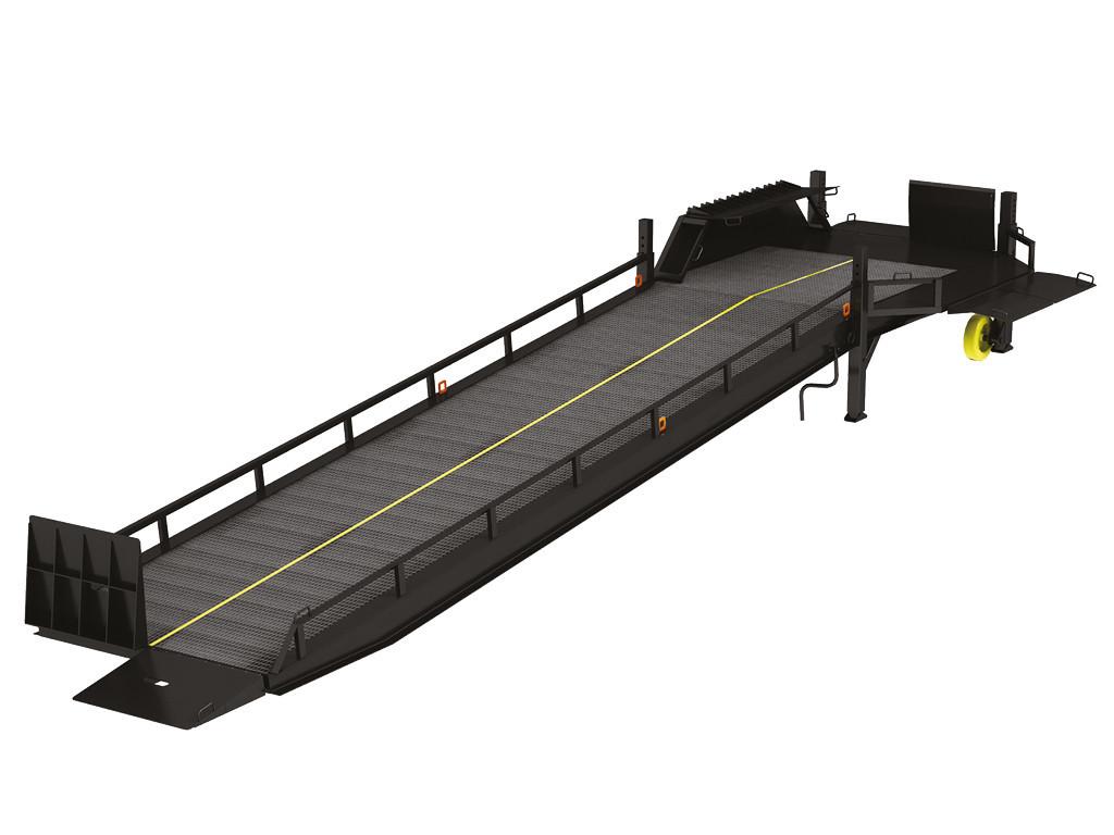 DoorHan 3SRM — мобильная рампа с трехсторонней загрузкой