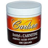 Ацетил-L-карнитин порошок Carlson Labs 100 г