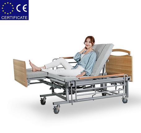 Медицинская кровать с туалетом Е08. Функциональная кровать. Кровать для инвалида. Современный дизайн., фото 2