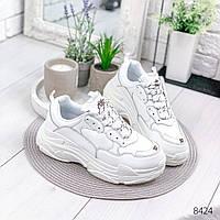 Кроссовки женские  в стиле Balenciaga белые