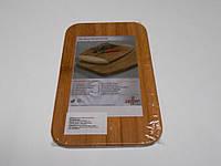 Доска бамбуковая 22*14*0,8 см, фото 1