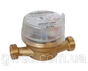 Счетчики ITRON для холодной воды одноструйные, муфтовые, Ду20