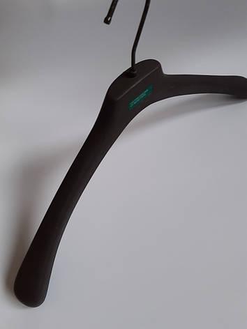 Вешалки для верхней одежды, плечики с широким плечом Benetton 45см, фото 2