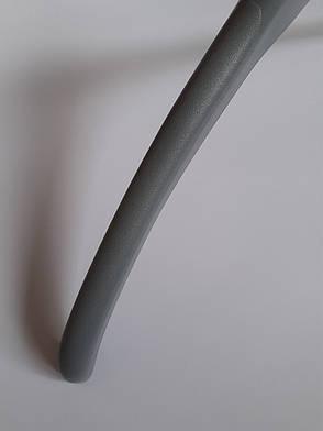 Вешалки для верхней одежды, плечики с широким плечом Серые 44см, фото 2