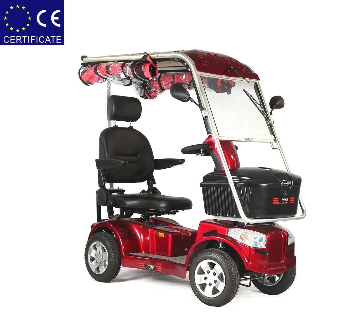 Скутер для инвалидов 4026. Электроскутер. Электрический скутер.