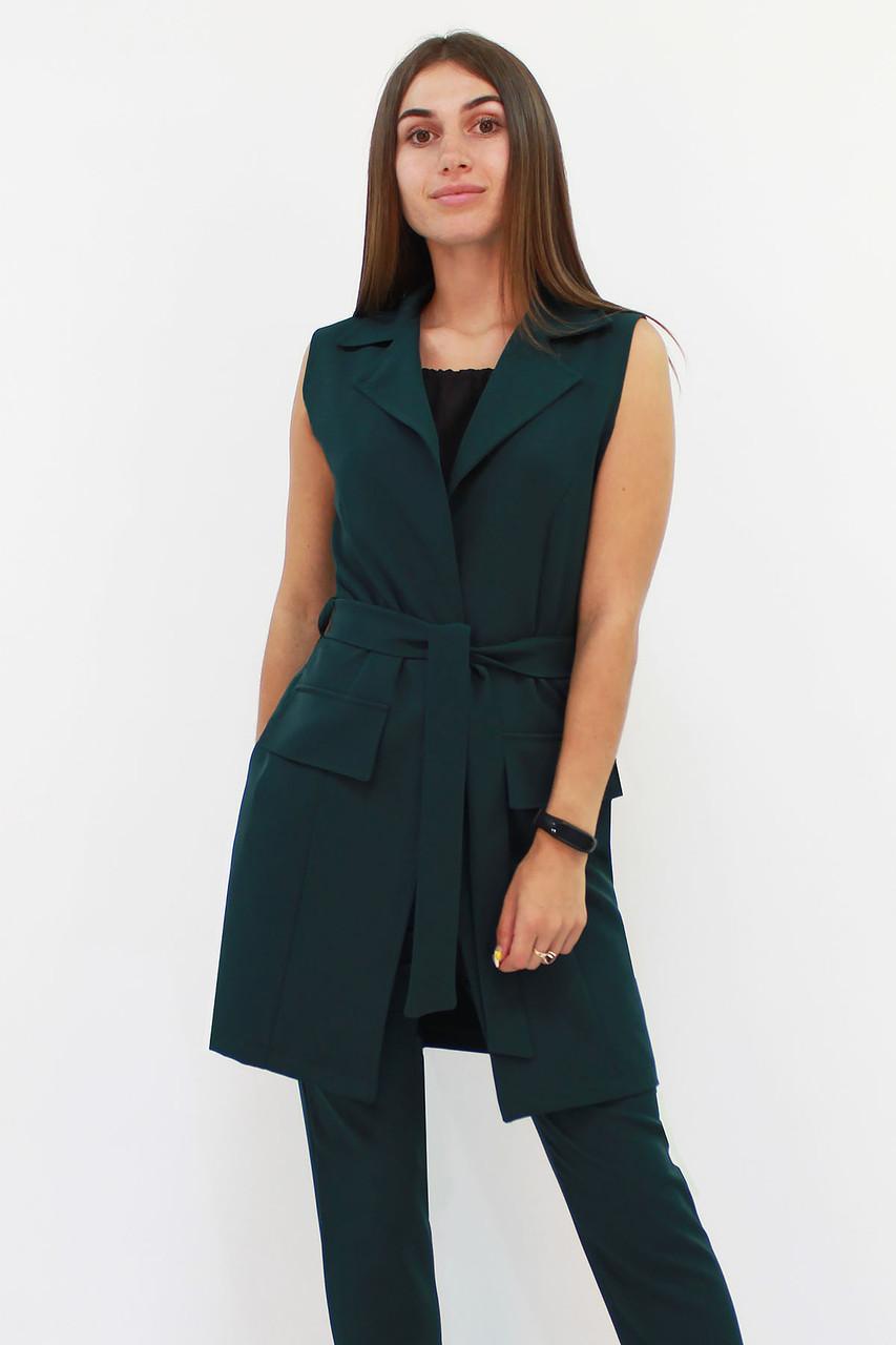 S, M, XL | Жіночий подовжений костюм Endru, темно-зелений