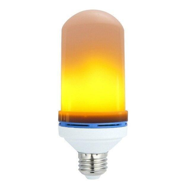 Лампа Fire Light c эффектом огня пламени свечи лампочка