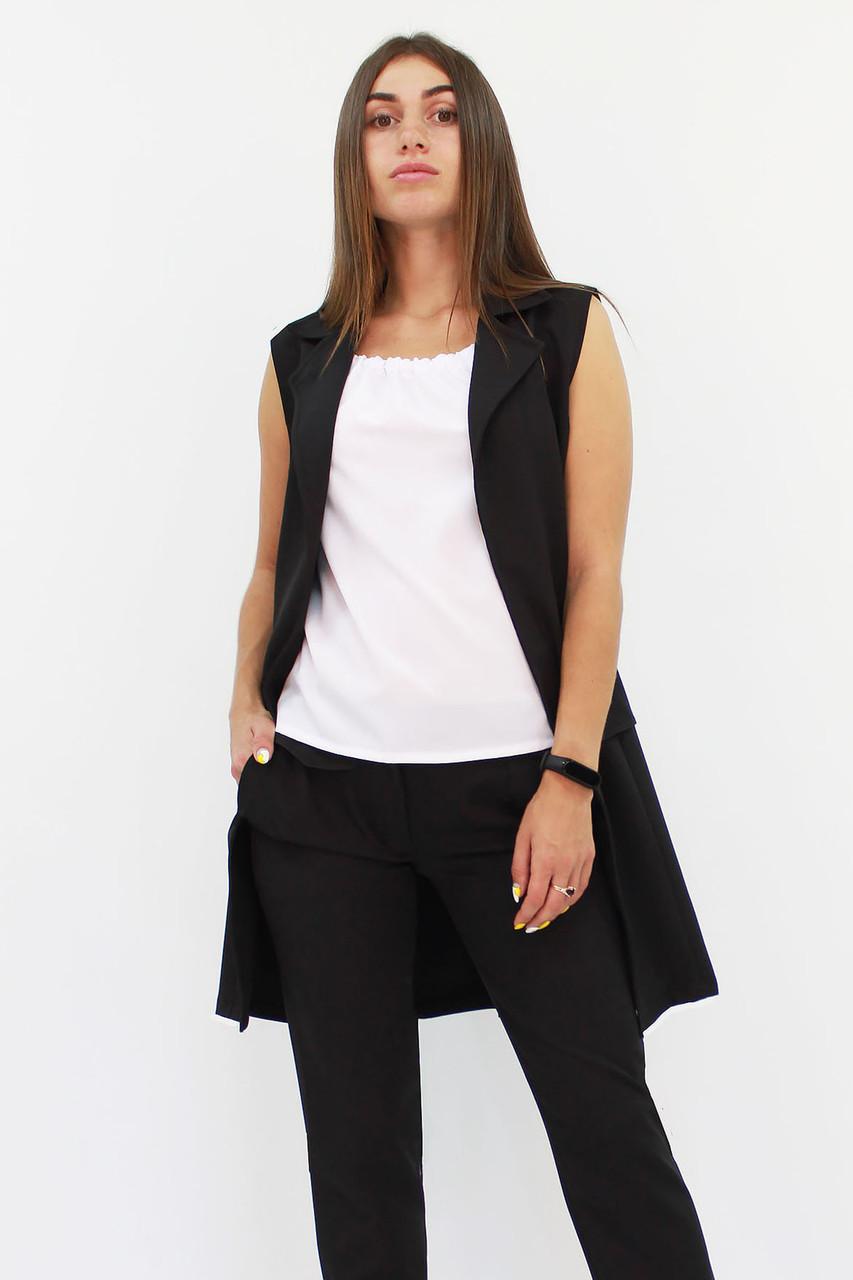 S, M, L, XL | Жіночий подовжений костюм Endru, чорний