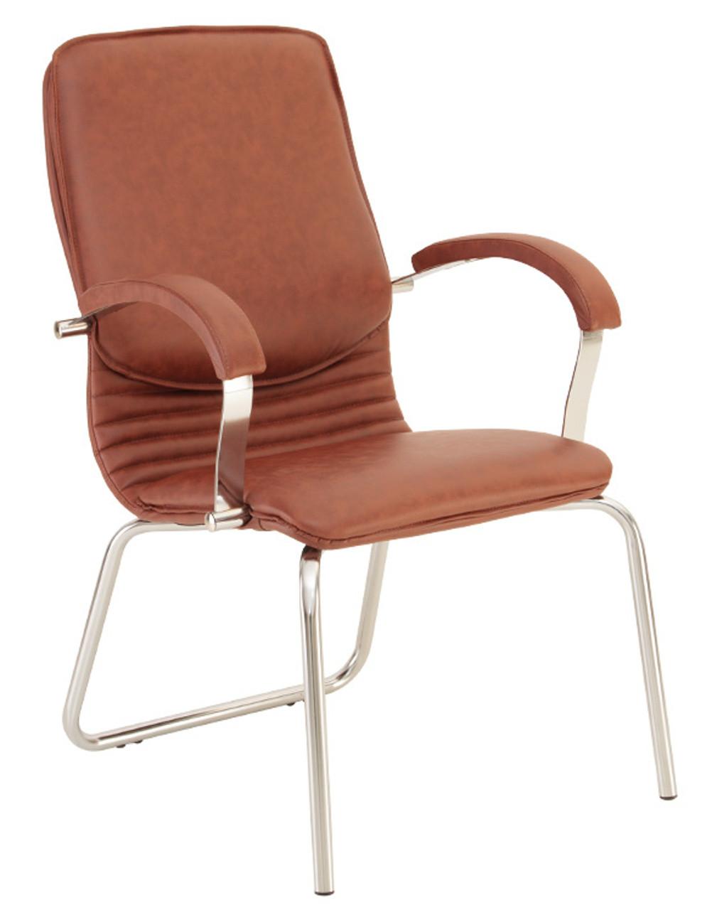Кресло для конференц-зала NOVA steel CFA/LB chrome - Украинский Стандарт в Харькове